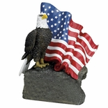 EAGLE FLAG TROPHY  NO PLATE