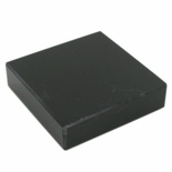 3 X 3 BLACK MARBLE PAPERWEIGHT