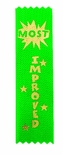 MOST IMPROVED 1-5/8 X 6 GREEN STOCK RIBBON