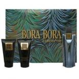 Bora Bora By Liz Claiborne For Men 3 PIECE GIFT SET-EAU DE COLOGNE SPRAY 3.3 OZ & HAIR & BODY WASH 3.3 OZ & BODY MOISTURIER 3.4 OZ  (Gift Set)