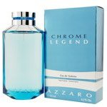 CHROME LEGEND BY Azzaro For Men EDT SPRAY 4.2 OZ