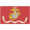 U.S. Marine Corps Polyester Flags (Various Sizes)