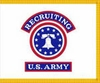 U.S. Army Recruiting Service Flag
