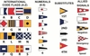 Nautical Code Flag Sets