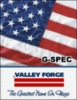 Valley Forge G-Spec Cotton  U.S. Flag  10'x19'