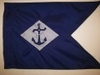 U.S. Navy Regulation Size Single Sided Guidon for Framing