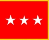 U.S. Army Lieutenant General Flags (3 Star)