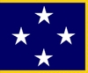 U.S. Navy 4 Star Admiral Flags