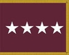 U.S. Army Medical Department General Officer Flags