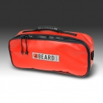 "TOOLBAG- DELUXE OPEN TOP, 19"" X 8"" 5"" , WITH STORAGE COMPARTMENT AND RUBBER HANDLE"