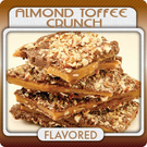 Almond Toffee Crunch Flavored Coffee (1/2lb Bag)