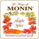 Monin Maple Spice Syrup