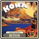 Hawaii Kona Blend Decaf Coffee (1/2lb Bag)