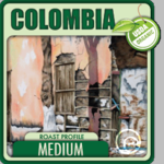 Organic Colombia Coffee <BR>(1/2 lb Bag)