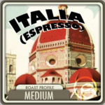 Espresso Italia Coffee <BR>(1/2 lb Bag)