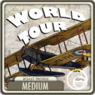 World Tour Coffee Blend <BR>(1/2 lb Bag)