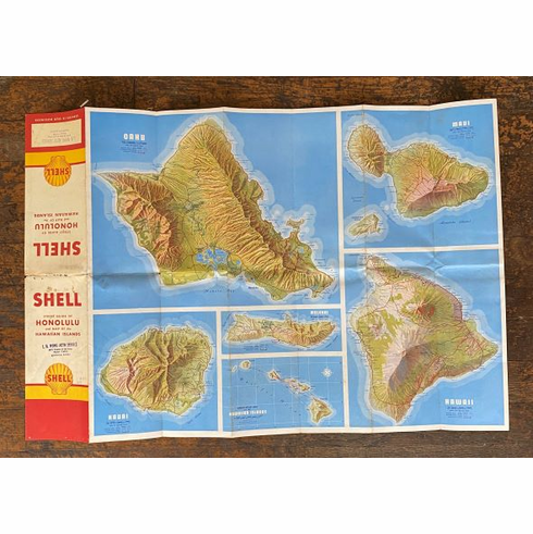 Shell Oil Hawaii Map