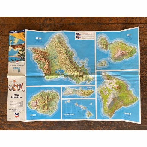 Chevron Hawaii Map
