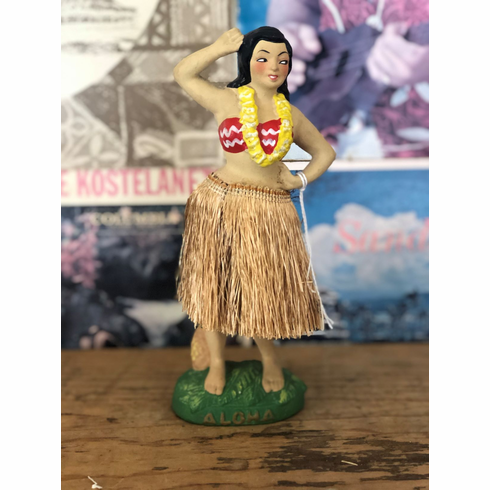 Large Hula Girl
