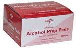 Alcohol Prep Pads - Box of 200