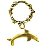 Dolphin and Waves Toggle Clasp Set