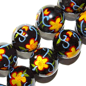 Magnetic Beads Painted