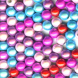 Miracle Bead Mix: 5 Colors (4mm)