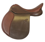 Henri De Rivel ( HDR ) Pro Buffalo Event AP Saddle (Flocked)