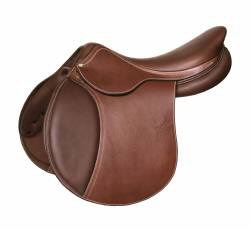 Marcel Toulouse Annice Printed Leather Close Contact Saddle