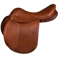 Marcel Toulouse Denisse Double Leather Close Contact Saddle Tobacco