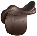 MARCEL TOULOUSE SIENNA PLATINUM DOUBLE LEATHER SADDLE