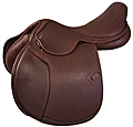 Marcel Toulouse Jeninne Platinum Double Leather Forward Flap Jumping Saddle