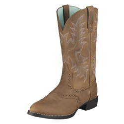 Ariat® Women's Heritage Stockman Western Boot Driftwood Brown