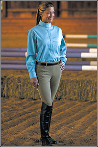 TuffRider Ladies Lowrise Show Circuit Side Zip Breech-$40 OFF CLEARANCE SALE