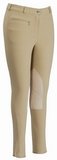 EcoGreen by TuffRider Ladies Bamboo Knee Patch LowRise Breech