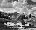 "MOUNT CLARANCE KING POOL, KINGS CANYON NAT'L PARK.  Large Ansel Adams Matted Reproduction (16"" x 20"")"