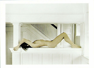NUDE ON WHITE LEDGE, 1985