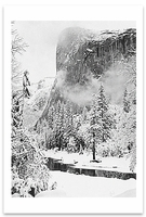 EL CAPITAN, WINTER, YOSEMITE NATIONAL PARK, CA, c 1948 (OUT OF STOCK)