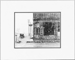 POST OFFICE - SMALL MATTED REPRODUCTION