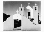 MISSION CHURCH, TAOS PUEBLO, NEW MEXICO, 1973