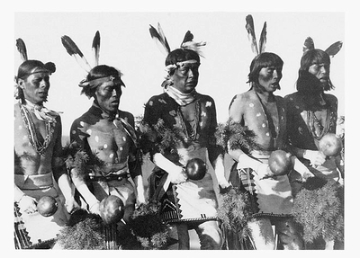 BUFFALO DANCE, SAN ILDEFONSO PUEBLO, NEW MEXICO, 1928