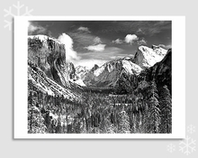 YOSEMITE VALLEY - HOLIDAY CARDS