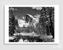 HALF DOME, MERCED RIVER - HOLIDAY CARDS