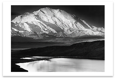 MOUNT MCKINLEY & WONDER LAKE, MOUNT MCKINLEY NATIONAL PARK, AK, 1948