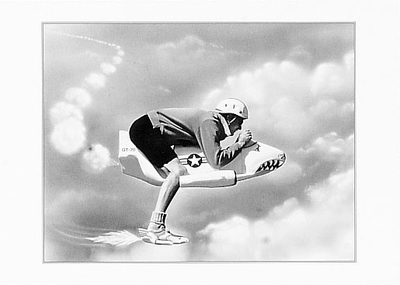 """FLYING SHARK GT-70 - BIRTHDAY CARD<BR>""""Hold on tight, it's your birthday. The sky's the limit!""""<BR>"""