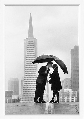 LOVE ON THE HORIZON, SAN FRANCISCO - NOTECARD