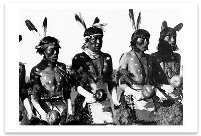 ANSEL ADAMS BUFFALO DANCE, SAN ILDEFONSO PUEBLO, NM, 1928 (OUT OF STOCK)