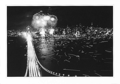 50TH ANNIVERSARY OF SAN FRANCISCO-OAKLAND BAY BRIDGE - GREETED
