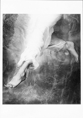 JOHN WIMBERLEY: DESCENDING ANGEL, SMALL POSTCARD