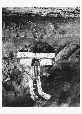 ALL AMERICAN MAN, PICTOGRAPH PANEL, CANYONLANDS, UT, 1990